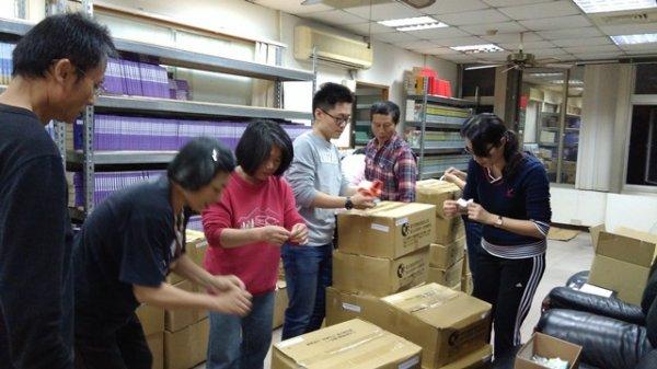 Northen Taichung Tati(Daixde) Branch -  Library Room Books Shelving