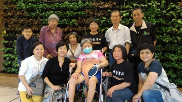 Tati Affinity Group Activity - Visit Min-hao Practitioner at Nursing Home